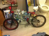"""BMX WTP Justice 20"""" comme neuf"""