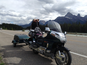 96' Gold Wing SE with matching trailer