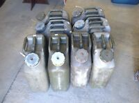 5 gallon military plastic Fuel cans
