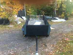 """NEW CONSTRUCTION 50""""x100"""" TRAILER NO PAPERS /MVI 700."""