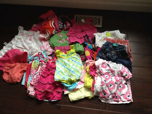 Lot girls 12 months summer clothes
