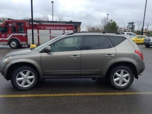 2004 NISSAN MURANO SE LEATHER ROOF HEATED V/SOLID
