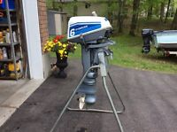Two (2)   Evinrude 6 hp outboard motors