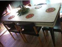 Dinning table and sideboard