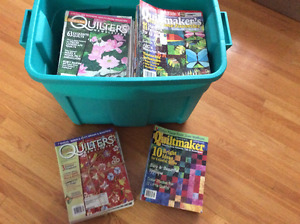 QUILT MAGAZINES FOR SALE