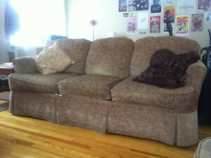 Couch and Chair Set - Excellent Condition - Need Gone