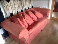 Three seater sofa for sale. Excellent condition.