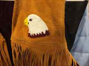 REDUCED!  REDUCED!,   NATIVE AMERICAN BEADED VEST Prince George British Columbia image 2