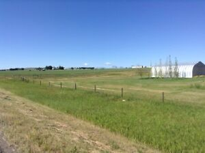 3 acres on the east side of Cardston