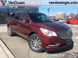 2017 Buick Enclave Leather  - Sunroof - Leather Package - $270.0