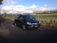 24/7 Trade sales NI trade prices for the public 2006 Vauxhall Zafira 1.6 Life Black 7 seater