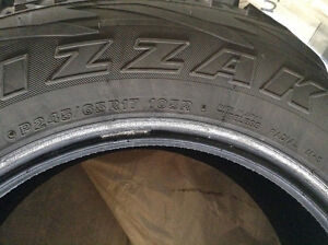 Winter Blizzak tires for sale, fits Envoy, Trail Blazer, ect Prince George British Columbia image 1