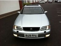 LEXUS GS 300 SE AUTOMATIC FULL HEATED LEATHERS