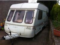 Twin axle 2 bed caravan