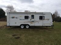 2006 wilderness travel trailer with bunks