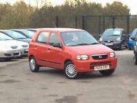 2005 SUZUKI ALTO 1.1 GL RED 5-DOOR HATCHBACK