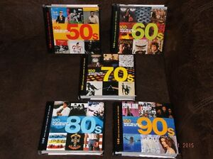 THE 100 BEST-SELLING ALBUMS OF THE 50'S,60'S,70'S,80'S,& 90'S