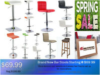◆Brand New Bar Stools Starting from $69@New Direction◆ON SALE!