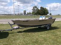 16 ft Aluminum Fishing Boat