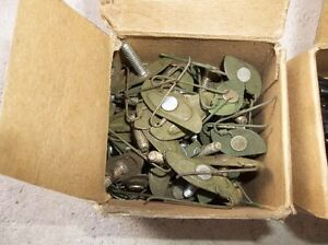 1 - BOX OF 50 T-BOLT TRIM CLIPS 1 - BOX OF BACKING PLATE RUBBERS Belleville Belleville Area image 2