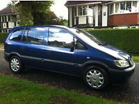 Vauxhall Zafiar 1.6 16V Club MPV Full Service History Long MOT