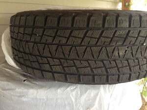 Winter Blizzak tires for sale, fits Envoy, Trail Blazer, ect Prince George British Columbia image 2
