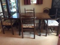 Youngers Toledo Dining Table and Chairs