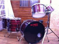Vintage premier Olympic drum kit