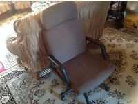 Computer chair for sale £12 Ex condition