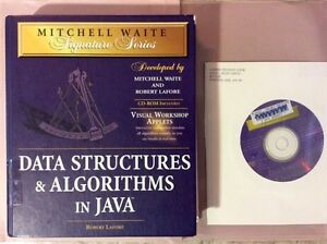 Data Structures & Algorithms in Java w/CD $5.00