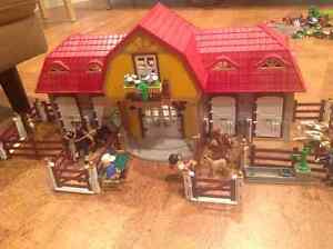 Playmobile Large Horse Farm with Stables 5221