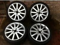 "Ford Fiesta ST 150 17"" Alloy Wheels 4x108"