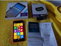 Microsoft Lumia 640 XL Mobile Phone And Microsoft fitness band
