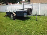 Utility Trailer, all metal