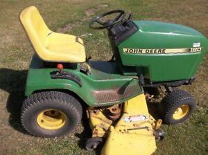 John Deere lawn tractor model 180
