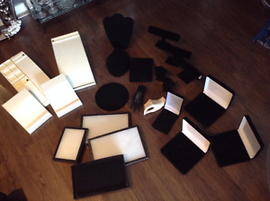 Lot of Assorted Jewelry Displays - 20 Pieces