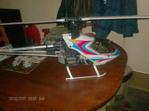 HELICO HIROBO SCAUDU NITRO SIZE 50 BNF 2 BUGGY A GAZ 1 DRONE