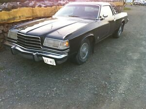 1978 Dodge Magnum with bunch of parts