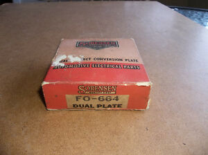 1949 1950 1951 1952 1953 flathead Ford V8 dual points set-up