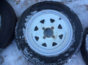 Trailer tires and rims Edmonton Edmonton Area image 2