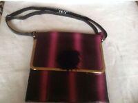 Ladies shoulder handbag v.good condition £4