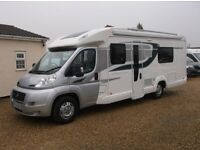 Fiat BESSACARR 582 motorhome fixed bed only 4389 miles camper
