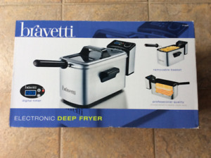 Brand new Bravetti electronic deep fryer