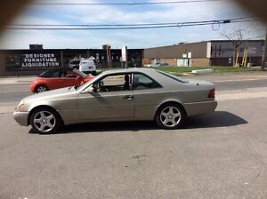1997 Mercedes-Benz S 500 two door coupe like new