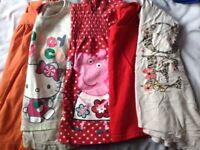 girls t-shirts aged 2-3yrs