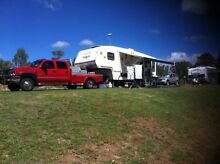 2009 Puma fifth wheeler and Chev Silverado Truck Spreyton Devonport Area Preview