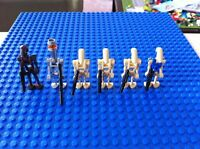 Lego mini-figure lot Starwars - 6 droids