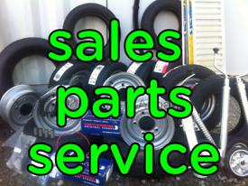 Trailer repair brakes flooring wheels tyres hubs