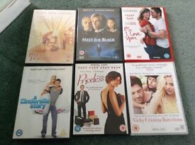 Variety of DVDs