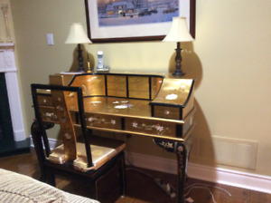 Oriental desk for sale